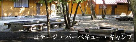 コテージ・バーベキュー・キャンプ
